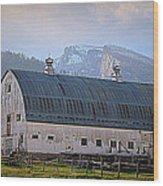 Mill Creek Barn Wood Print