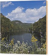 Mill Creek Lake - D001303 Wood Print