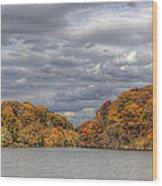 Mill Creek Park In Fall Wood Print