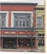 Mill End Store In Clare Michigan Wood Print
