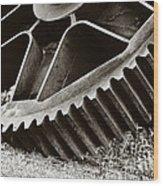 Mill Gear Wood Print