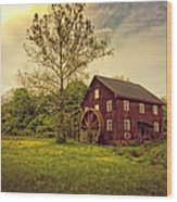 Mill Point Wood Print