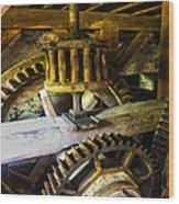 Mill Universal Newlin Mills Pa Wood Print