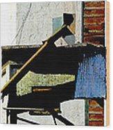 Millamillion Wood Print