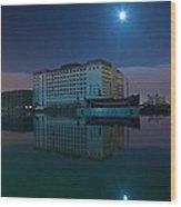 Millenium Mills Spillers Docklands Wood Print