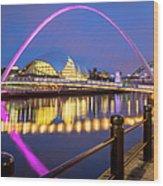 Millennium Bridge - Gateshead Wood Print