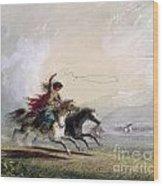 Miller - Shoshone Woman Wood Print