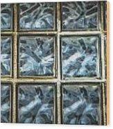 Miller Factory Window Panes Wood Print