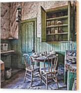 Miller House Kitchen Wood Print