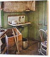 Miller Kitchen Wood Print