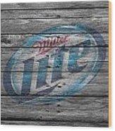 Miller Lite Wood Print