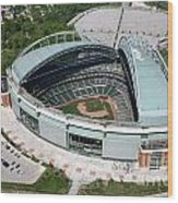 Miller Park Milwaukee Wisconsin Wood Print
