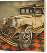 Millers Chop Shop 1929 Dodge Victory Six Before Wood Print