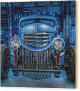 Millers Chop Shop 1946 Chevy Truck Wood Print
