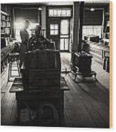Millinary Store Wood Print