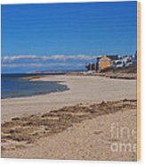 Millway Beach Wood Print