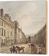 Milsom Street, From Bath Illustrated Wood Print