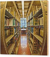 Milstein Room Nyc Library Wood Print