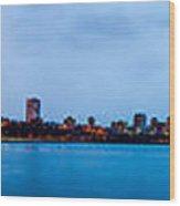Milwaukee Skyline - Version 1 Wood Print