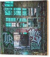 Milwaukee - Solvay Coke And Gas Company  3 Wood Print