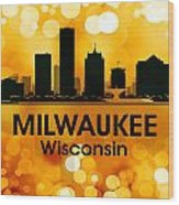 Milwaukee Wi 3 Wood Print by Angelina Vick