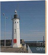 Mimicking A Lighthouse Wood Print