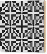 Mind Games 43 Wood Print