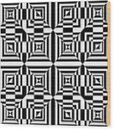 Mind Games 50 Wood Print