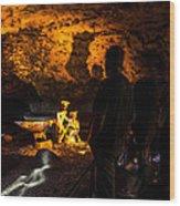 Miners Wood Print
