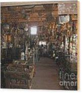 Miner's Shop Wood Print