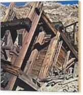 Mines Of Death Valley Wood Print
