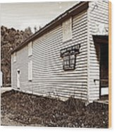 Mingo Post Office And Foxhill Farms General Store Wood Print