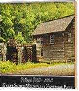 Mingus Mill -- Poster Wood Print