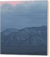 Mingus Mountain Sunset Dec 08 2013 C Wood Print