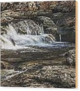 Mini Waterfall Wood Print