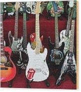 Miniature Guitars Szentendre Hungary Wood Print