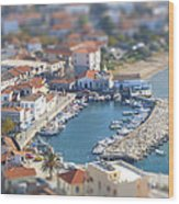 Miniature Port Wood Print