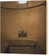 Miniature Templar Church Wood Print