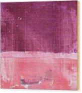 Minima - S02b Pink Wood Print