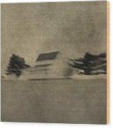 Minimalism Wood Print
