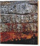 Mining Wood Print