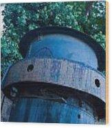 Mining Boiler Wood Print