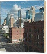 Minneapolis 1 Wood Print