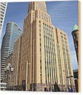 Minneapolis Skyscrapers Wood Print