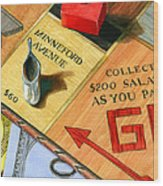 Minneford Monopoly Wood Print