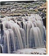 Minneopa Falls Upper Wood Print