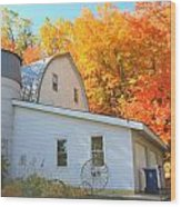 Minnesota Barn Wood Print