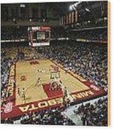Minnesota Golden Gophers Williams Arena Wood Print