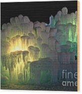 Minnesota Ice Castle 2013 Wood Print