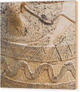 Minoan Jar Wood Print
